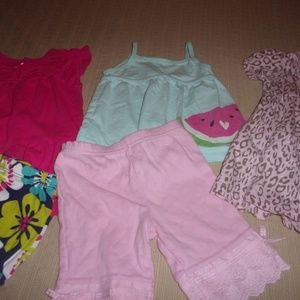 carters the childrens place outfits sz 9 months